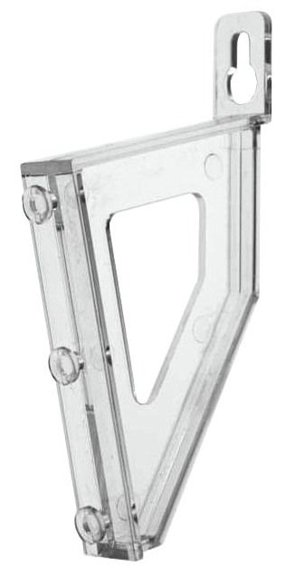 CL-LKB  Pair of ClipLock Leaning Brackets - for mounting pockets direct to wall screw fixing